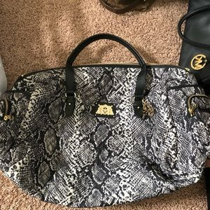 Juicy Couture Weekend Duffel and Matching Tote